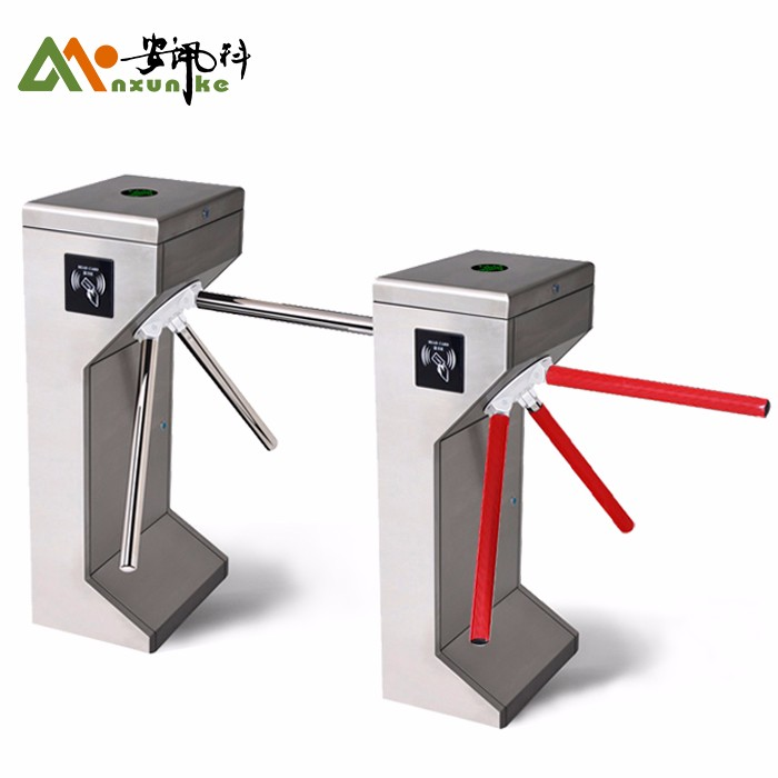 Vertical Smart Rfid Half Turnstile For Subway